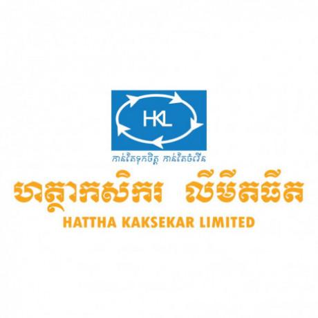 """Logo Hattha Kaksekar Limite """"HKL"""""""
